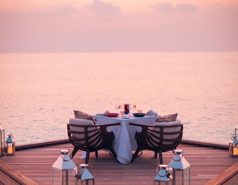repas sur la mer