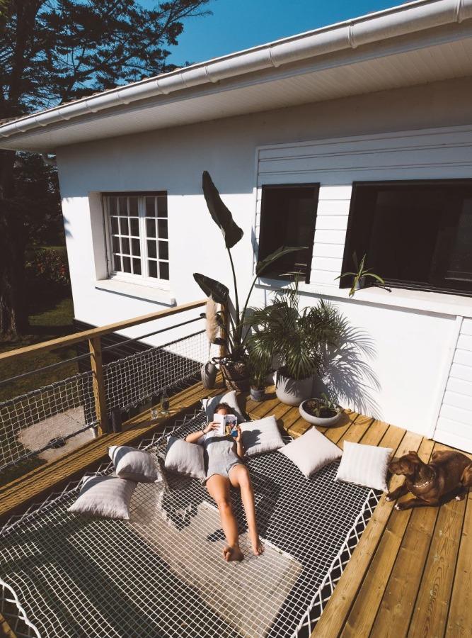 Filets d'habitation sur terrasse