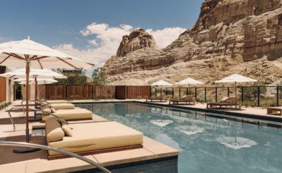 Découvrez un hôtel dans l'Utah, l'Amangiri
