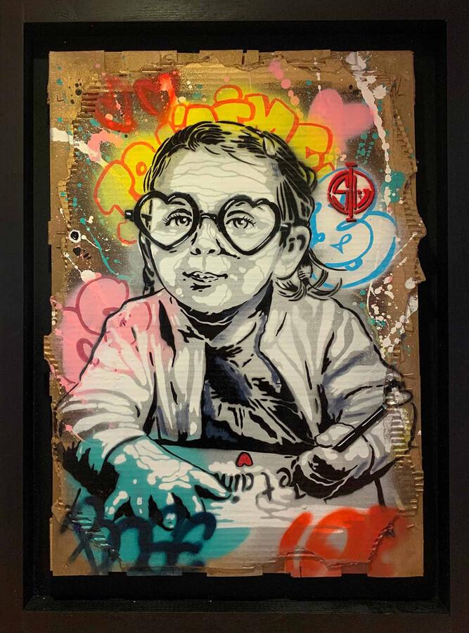 art en ligne peinture d un enfant