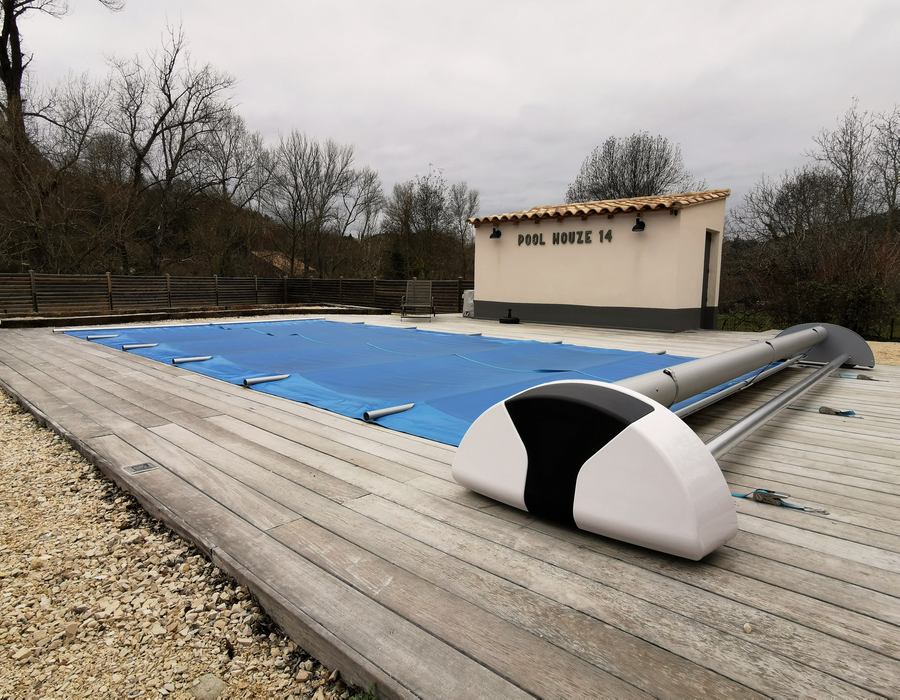 équipements de piscine couverture de la pisicne
