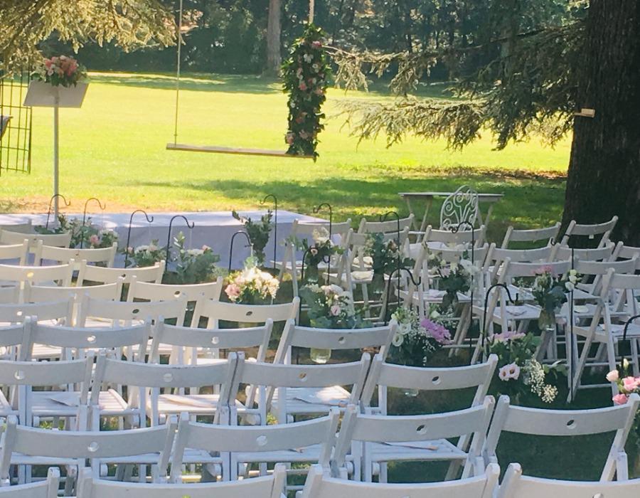lieu de cérémonie mariage campagne chic