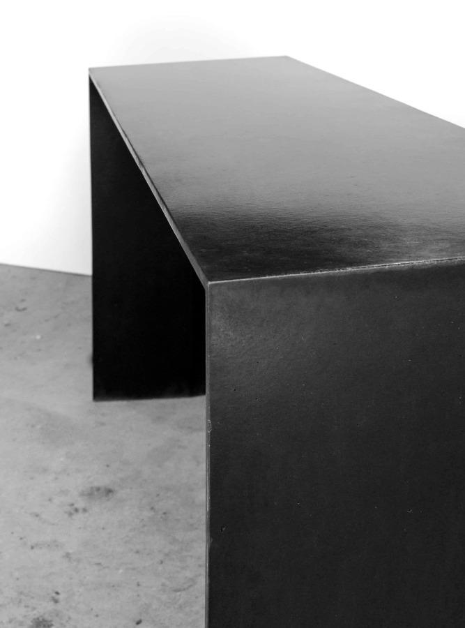 console simple noir