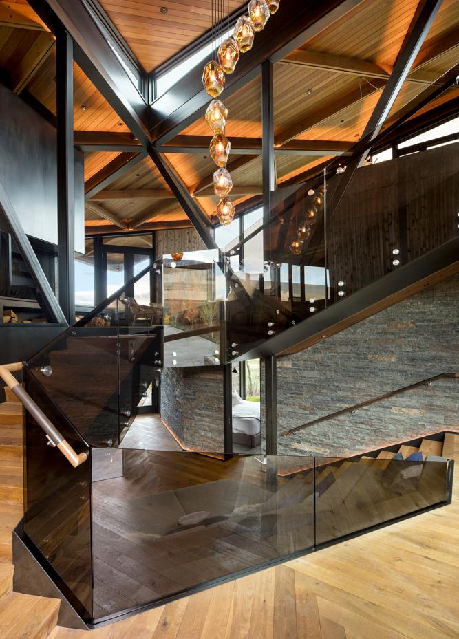escaliers dans la résidence