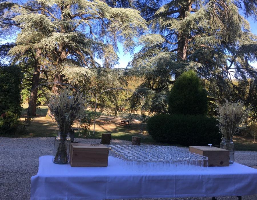 lieu de réception jardin mariage