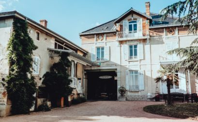 propriété viticole dans les Beaujolais