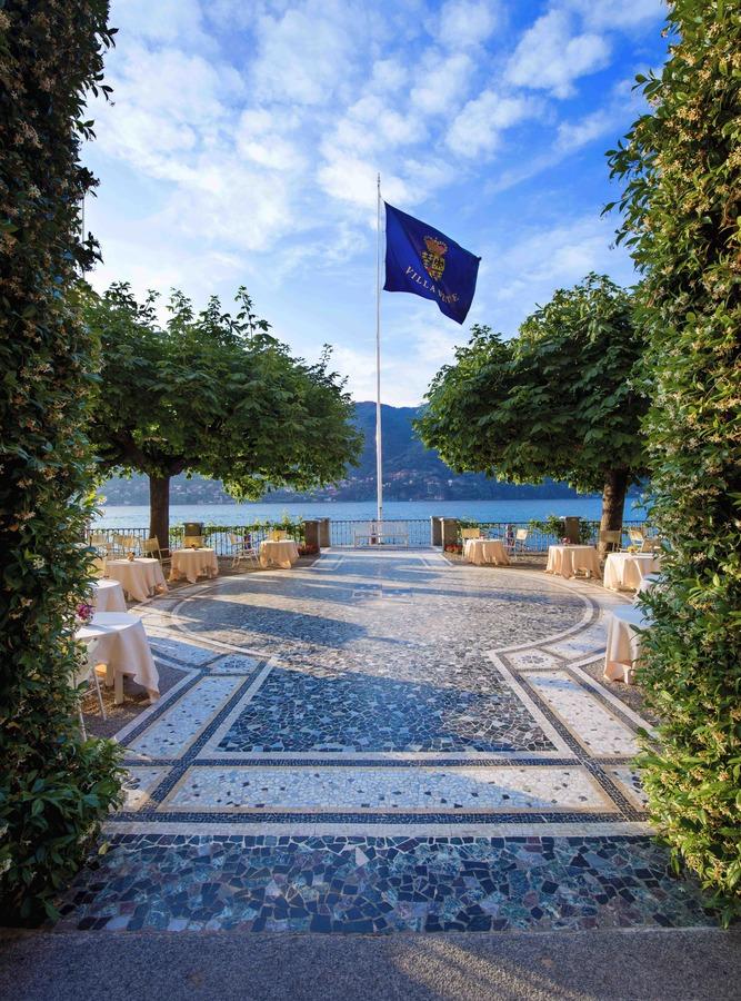 Vue depuis l'Hotel du Lac de Come, Villa d'Este